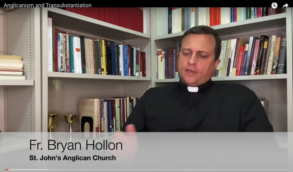 Do Anglicans Believe in Transubstantiation? Image